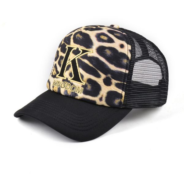 Kingdom Leopard Snapback Trucker Hat