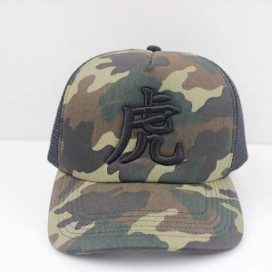 Truckers Cap_TIGERS ANGELS WINGS TIGER TRUCKER HAT